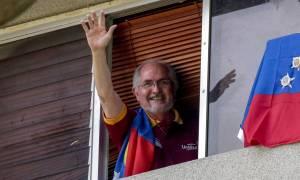 Ξέφυγε από τα «δεσμά» του Μαδούρο ο δήμαρχος του Καράκας - Ζήτησε πολιτικό άσυλο στην Ισπανία