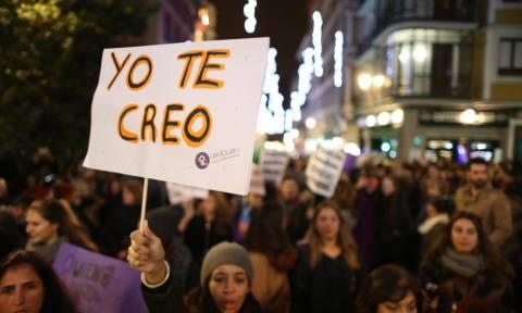 Μαδρίτη: Στους δρόμους χιλιάδες Ισπανοί για την βία κατά των γυναικών