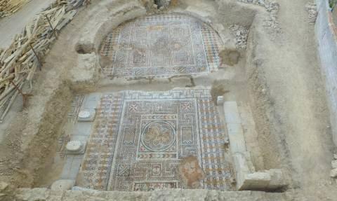 Τουρκία: Περίτεχνο αρχαίο μωσαϊκό ανακαλύφθηκε στη Λαοδίκεια – Δείτε φωτογραφίες και βίντεο