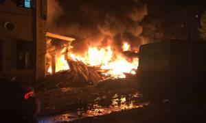Ισραήλ: Ισχυρή έκρηξη με κατάρρευση κτιρίου κοντά στο Τελ Αβίβ (vids)