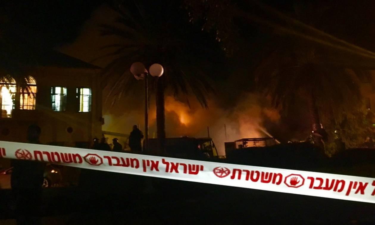 Ισραήλ: Τουλάχιστον τρεις νεκροί από την ισχυρή έκρηξη στη Γιάφα (vids)
