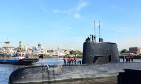 Αυτό είναι το τελευταίο μήνυμα του υποβρυχίου της Αργεντινής
