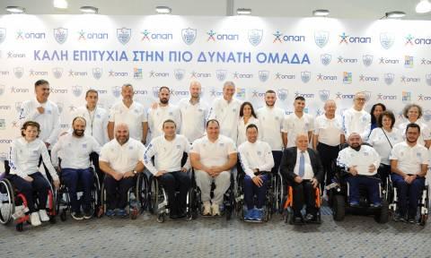 O ΟΠΑΠ εύχεται «καλή επιτυχία» στους αθλητές της Ελληνικής Παραολυμπιακής Ομάδας