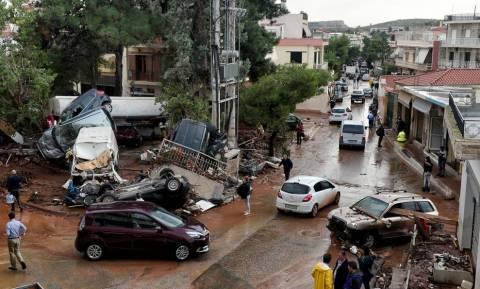 Πλημμύρες δυτική Αττική: Ξεκινά η κατάθεση αιτήσεων για χορήγηση επιδόματος στους πληγέντες