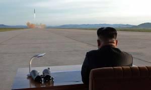 Συναγερμός! H Βόρεια Κορέα εκτόξευσε νέο βαλλιστικό πύραυλο