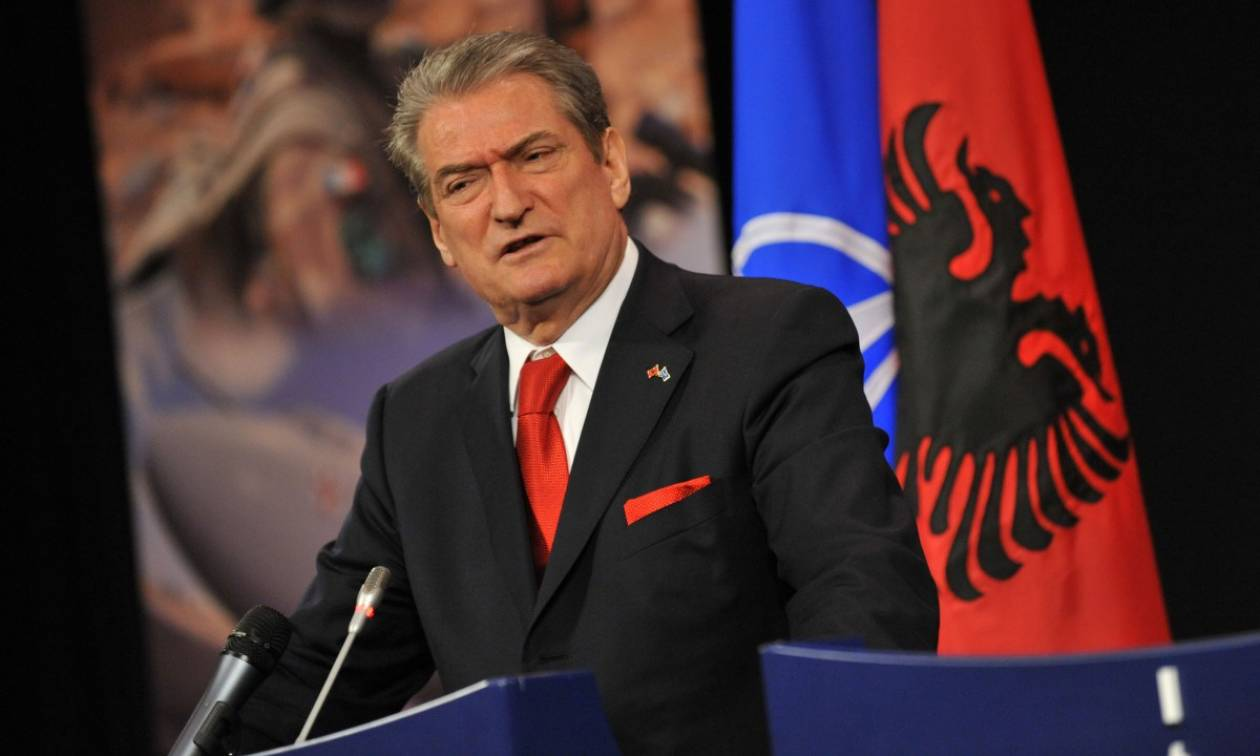 Εξοργιστική πρόκληση: «Μεγάλη Αλβανία» ζητά και ο Σαλί Μπερίσα (Vid)