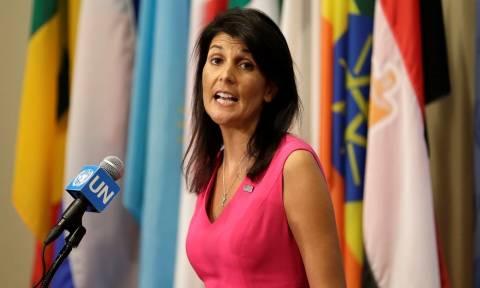 ΟΗΕ: Οι ΗΠΑ απαιτούν τη διακοπή όλων των εμπορικών σχέσεων των κρατών-μελών με την Πιονγιάνγκ
