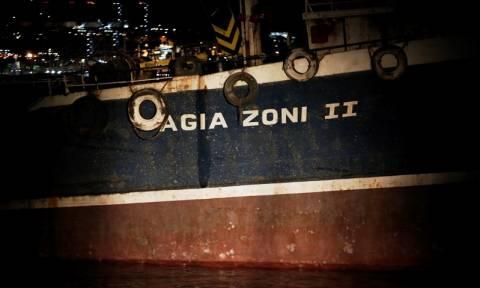Στη Σαλαμίνα το «Αγ. Ζώνη ΙΙ» - Εξετάζεται η πιθανότητα δολιοφθοράς