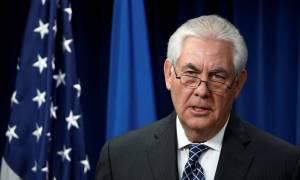 Έκκληση του Τίλερσον στην Κίνα να διακόψει τις παραδόσεις πετρελαίου στη Β. Κορέα
