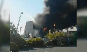 Συναγερμός στην Ιαπωνία: Έκρηξη με αρκετούς τραυματίες σε χημικό εργοστάσιο στην πόλη Φούτζι