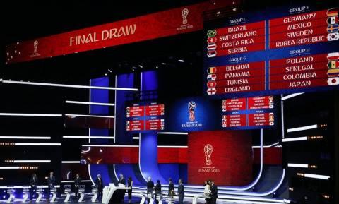 Παγκόσμιο Κύπελλο: Αυτοί είναι οι όμιλοι! (pics)