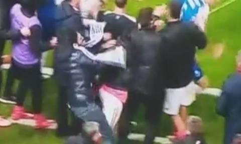 «Ντου» και επίθεση οπαδού της Μπενφίκα σε παίκτη της Πόρτο! (vid)