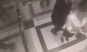 Επιτέθηκε σεξουαλικά σε γυναίκα μέσα σε ασανσέρ! Δείτε τι του έκανε (video)