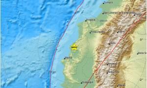 Ισχυρός σεισμός στον Ισημερινό