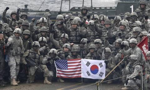 Ξεκίνησαν οι κοινές στρατιωτικές ασκήσεις ΗΠΑ - Νοτίου Κορέας