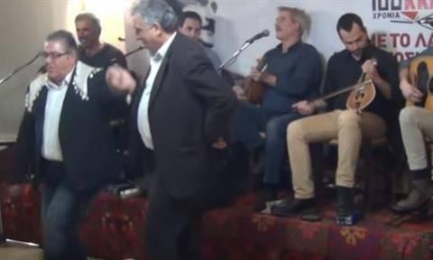 Κρήτη - νέα: Το τσάμικο του Κουτσούμπα στα Ανώγεια (video)