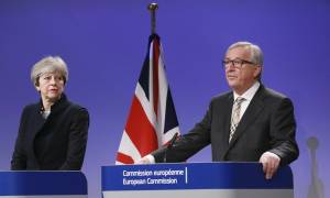 Brexit: Χωρίς τελική συμφωνία η συνάντηση Γιούνκερ – Μέι