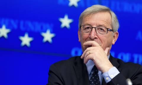 Συγχαρητήρια Ζαν-Κλοντ Γιούνκερ στον νέο πρόεδρο του Eurogroup Μάριο Σεντένο