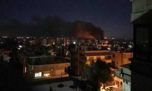 Συρία: Νέα ισραηλινά αεροπορικά πλήγματα κοντά στη Δαμασκό