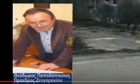 Θύμα ξυλοδαρμού από οργισμένο συγχωριανό του πρόεδρος τοπικής κοινότητας στο Αγρίνιο