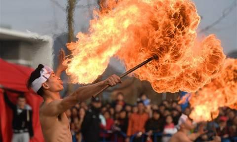 Ντονγκμπαϊτζουάνγκ: Εκτός από χωριό με περίπλοκο όνομα είναι και η γενέτειρα των ακροβατικών (Pics)