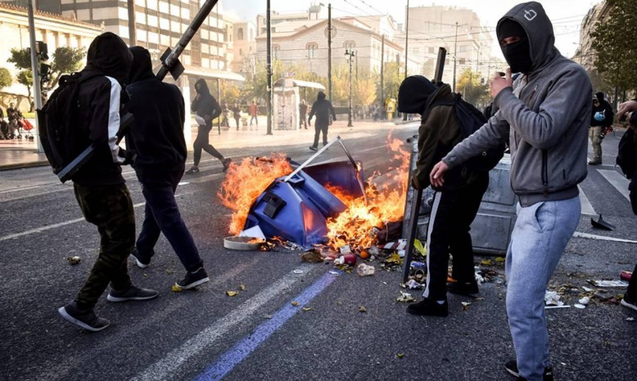 Επέτειος Γρηγορόπουλου: Καρέ - καρέ τα επεισόδια στο κέντρο της Αθήνας (pics)