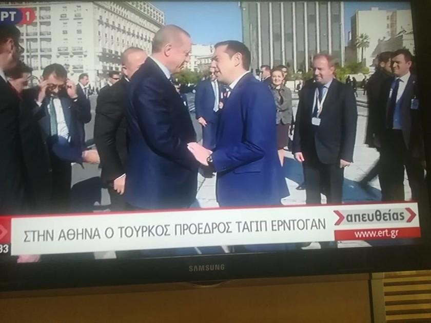 Στην Αθήνα ο Ερντογάν: Όλα όσα θα συζητήσει με Παυλόπουλο και Τσίπρα