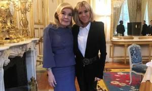 Προσκεκλημένη της Μπριζίτ Μακρόν η Μαριάννα Βαρδινογιάννη