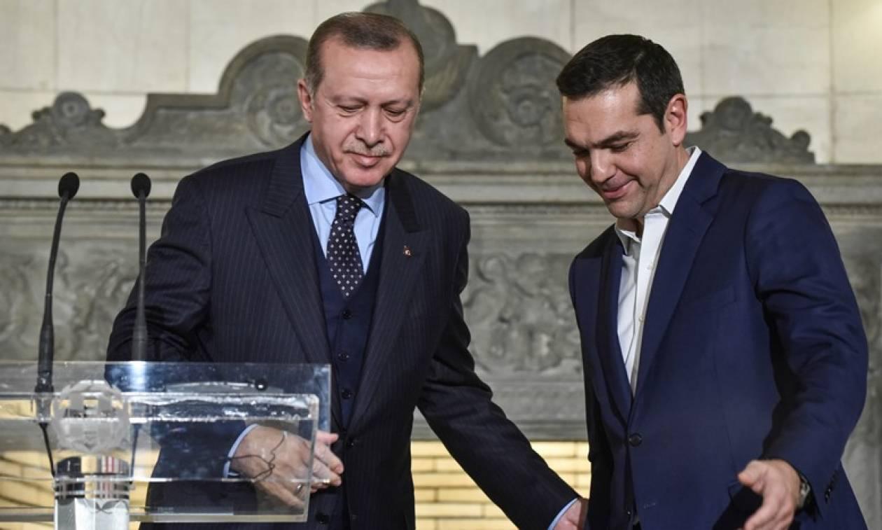 Αποτέλεσμα εικόνας για τσιπρας ερντογαν