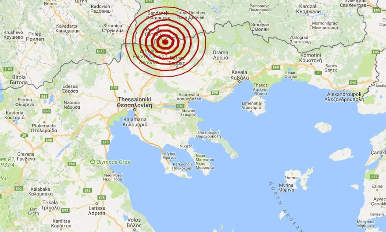 Σεισμός 3,9 Ρίχτερ κοντά στις Σέρρες (pics)