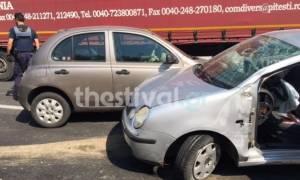Σοβαρό τροχαίο με τραυματίες στη Θεσσαλονίκη