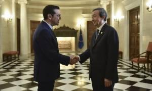 Τετ-α-τετ Τσίπρα με τον αναπληρωτή πρωθυπουργό της Κίνας: Τι συζήτησαν