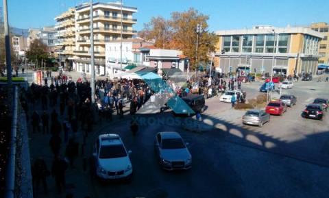 Aντισυγκέντρωση στην Κομοτηνή κατά Ερντογάν