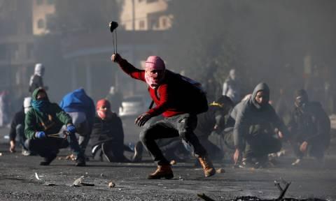 Στο αίμα βάφτηκε η «Ημέρα της οργής στην Παλαιστίνη - Δύο νεκροί και δεκάδες τραυματίες (Pics+Vids)
