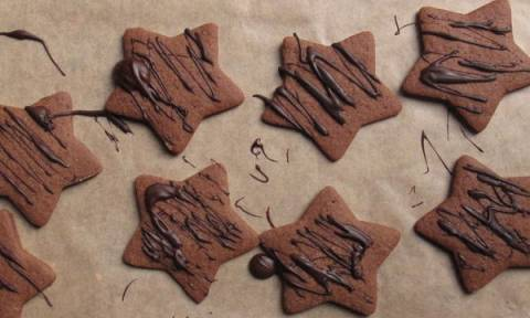 Φτιάξτε χριστουγεννιάτικα μπισκότα, μόνο με λίγα υλικά