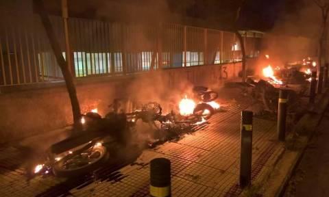 Επεισόδια και μολότοφ στο Μετς: 11 προσαγωγές απο την Αστυνομία