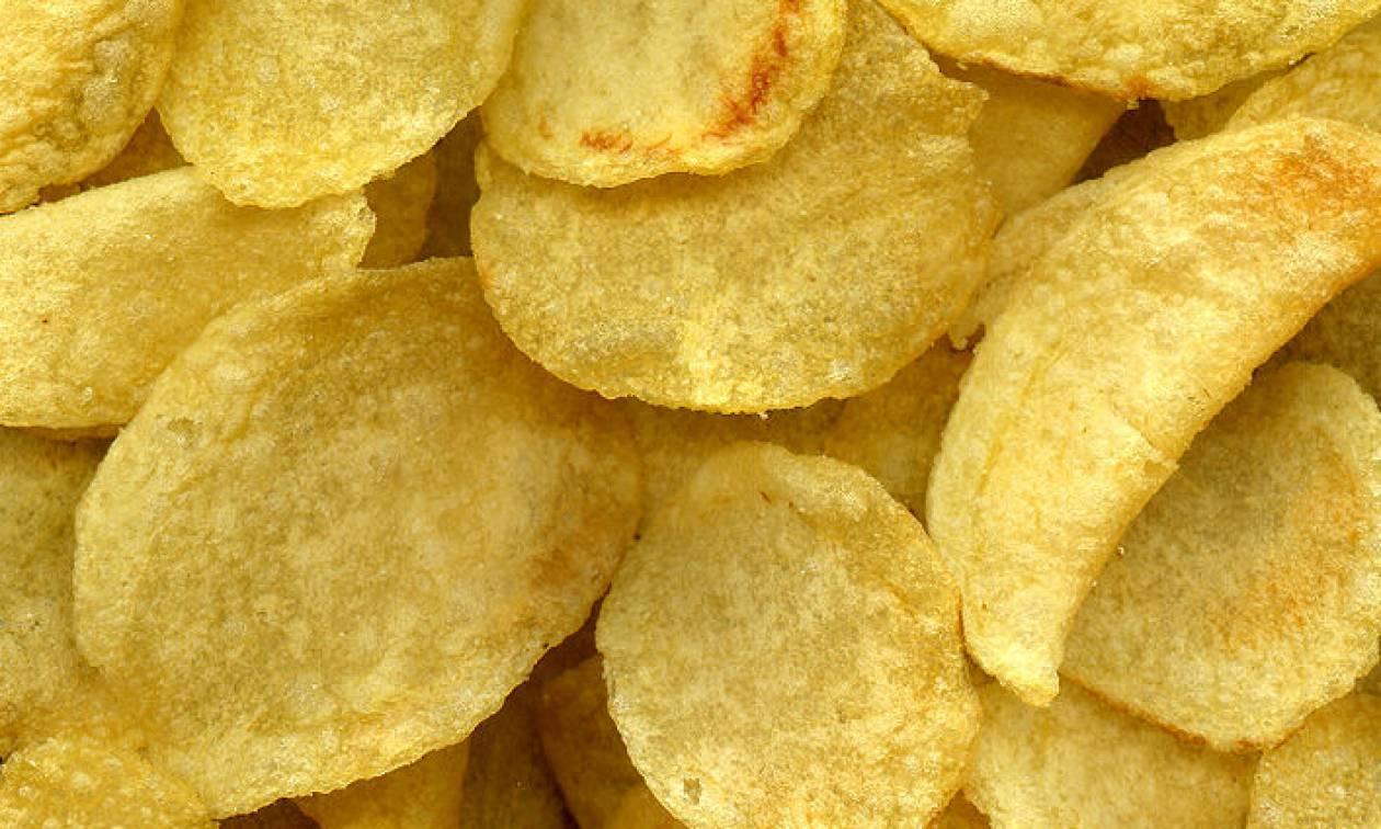Προσοχή! Ο ΕΦΕΤ ανακαλεί από την αγορά πατατάκια - Μην τα καταναλώσετε