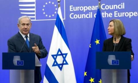 «Χαστούκι» στον Νετανιάχου από την ΕΕ για το φλέγον ζήτημα της Ιερουσαλήμ