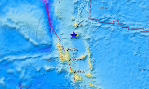 Ισχυρός σεισμός 5,7 Ρίχτερ στα Βανουάτου