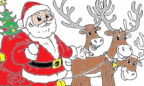 Χριστουγεννιάτικες χρωμοσελίδες για παιδιά  60 για να εκτυπώσετε αυτή που  αρέσει στο παιδί σας f6774792724
