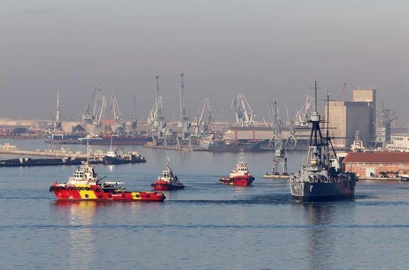 Αβέρωφ: Το ταξίδι της επιστροφής από τη Θεσσαλονίκη στον Πειραιά ξεκίνησε (pics)