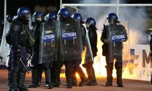 Κύπρος: Σύλληψη 17χρονου για τα επεισόδια στο ΑΕΛ - ΑΠΟΕΛ (pics)