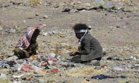 Ο ΟΗΕ «κρούει τον κώδωνα» στην Υεμένη: 8,5 εκατομμύρια άνθρωποι πεθαίνουν από πείνα