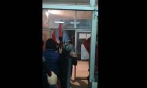 Βίντεο από τα επεισόδια σε αντιφασιστική συγκέντρωση στη Σαλαμίνα