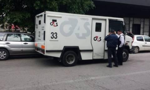 Εξερράγη βαλίτσα χρηματαποστολής - Τραυματίστηκαν σοβαρά δύο υπάλληλοι ασφαλείας (pics)