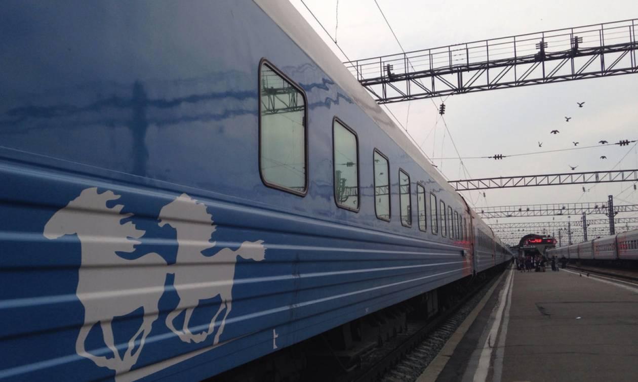 Το τρένο του τρόμου! Και δεν μιλάμε για λούνα παρκ (video)