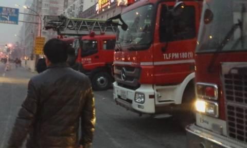 Πυρκαγιά στο Πεκίνο στοίχισε τη ζωή σε πέντε ανθρώπους