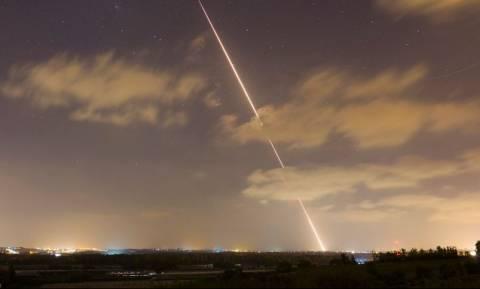 Νέα εκτόξευση πυραύλων από τη Λωρίδα της Γάζας προς το Ισραήλ
