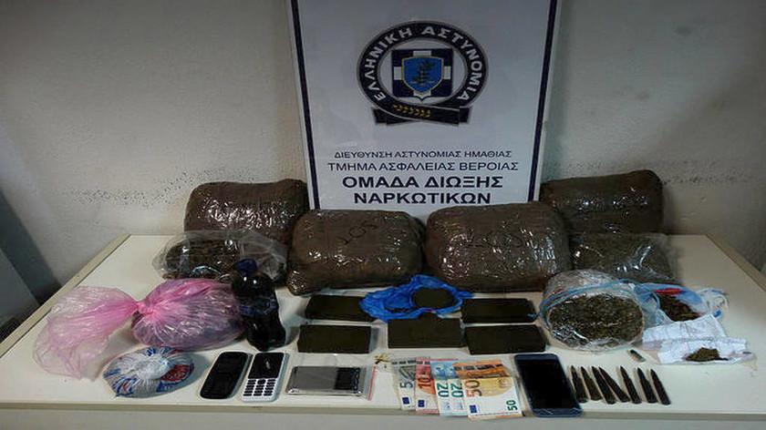 Θεσσαλονίκη: 25χρονος κατείχε πάνω από 7 κιλά κάνναβης (pic)