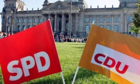 Γερμανία: Την Παρασκευή η απόφαση του SPD για τη συμμετοχή σε διερευνητικές συνομιλίες με το CDU
